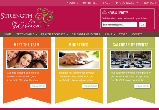 Strength For Women Ministries